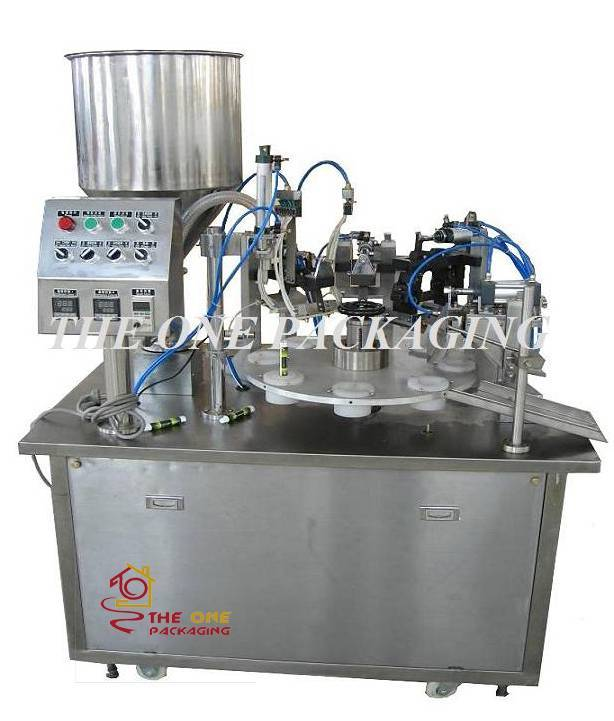 TOSF-25 Semi-automatic Plastic Tube Filler and Sealer