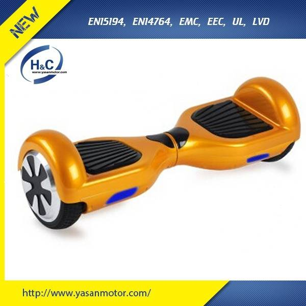 China Smart new design samsung 7'' 36V 4.4Ah Lithium Ion 350w 2 wheel electric standing scooter