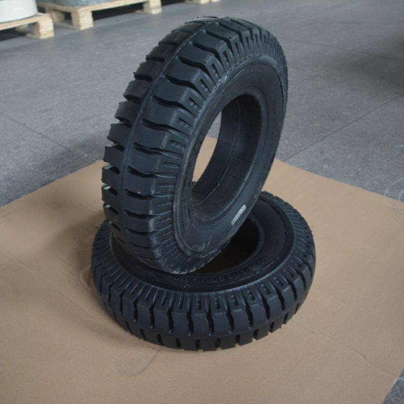 solid tire for truck industrial vehicles 4.00-8/3.75