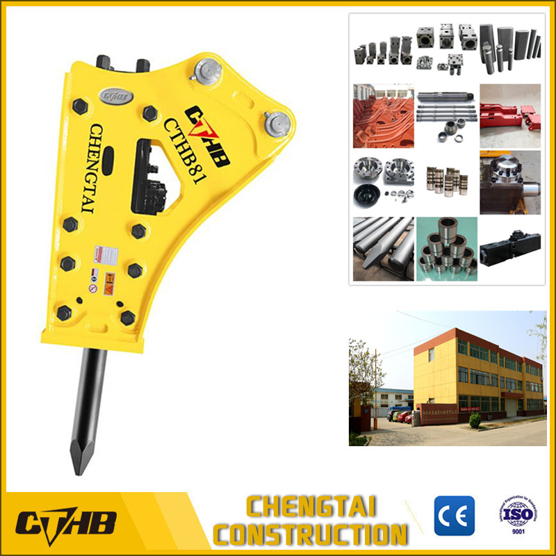 SB81A 140mm chisel diameter side type hydraulic rock breaker