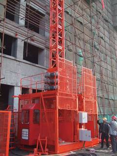 high quality SC200/200 construction hoist with competitive price