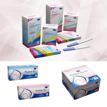 CE and FDA approved David HCG pregnancy test strip cassette midstream