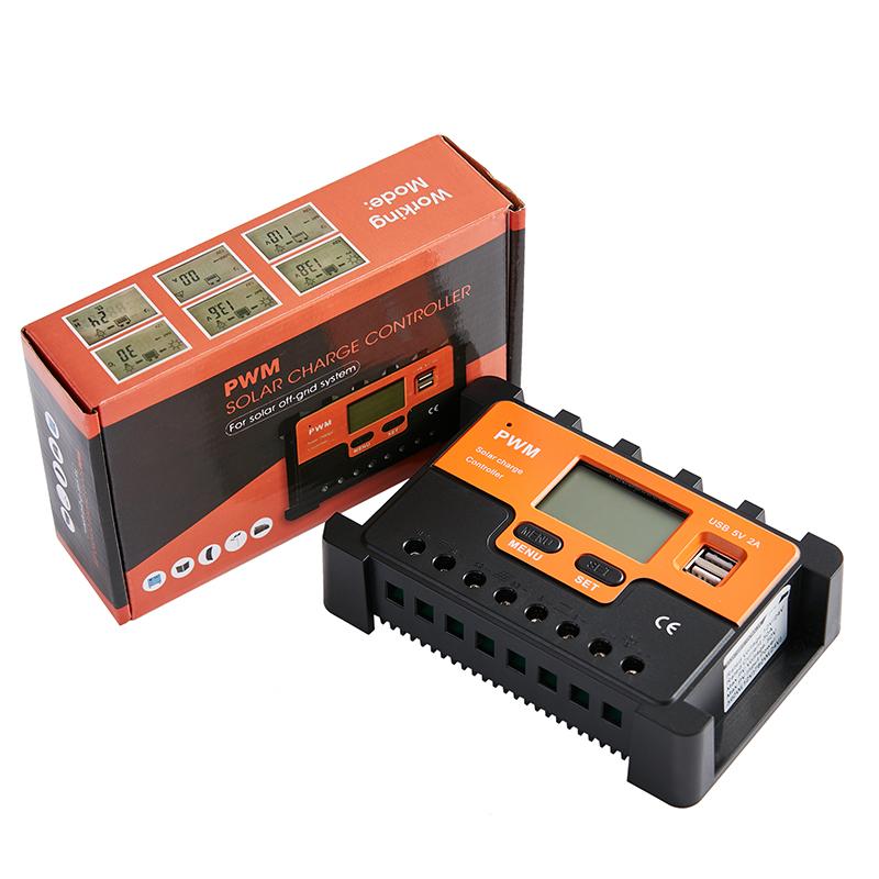 MPPT 20A 30A 50A 80A solar controller for solar energy system