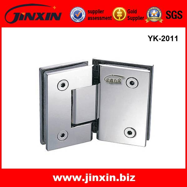 135 degree SS glass hinge