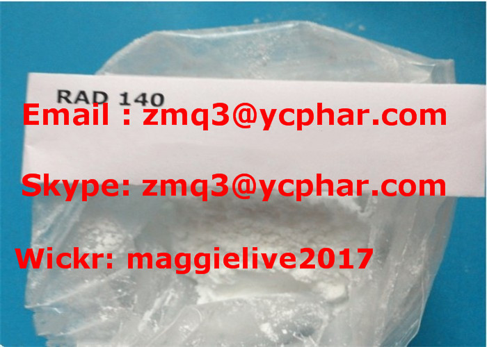 Rad-140 SARMs Raw Powder Rad140 CAS 1182367-47-0 for bodybuilding
