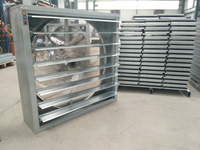 Industrial Exhaust Fan for Ventilation and Cooling System