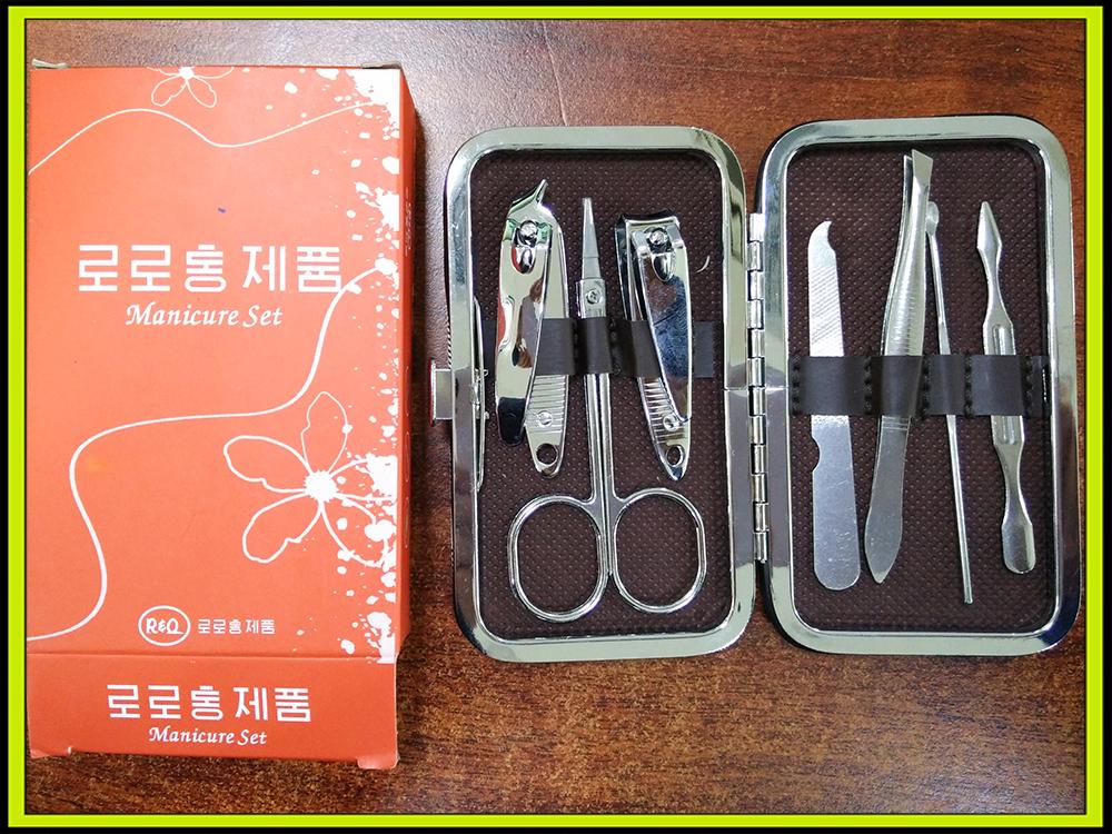 JY-LHJ-004 7pcs Manicure Kit