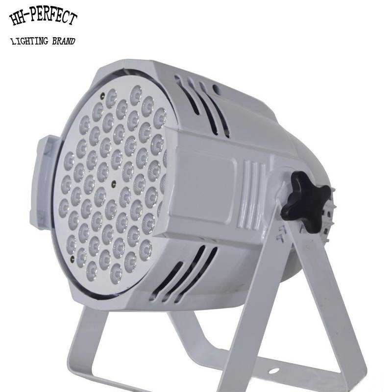 factory wholesales cheaper price 54pcs 3w high quality rgbw led par lights