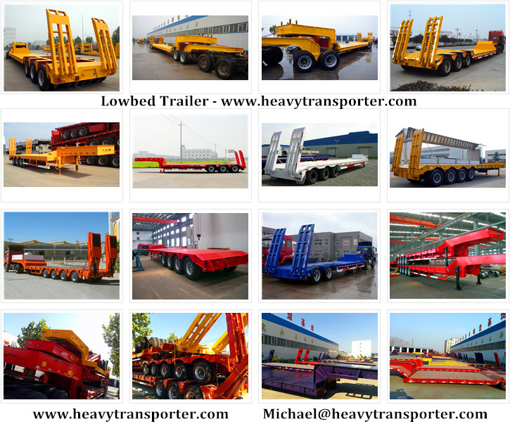 Semi Trailer-Lowbed Trailer-Low Loader-Extendable Trailer-CHINA HEAVY TRANSPORTER