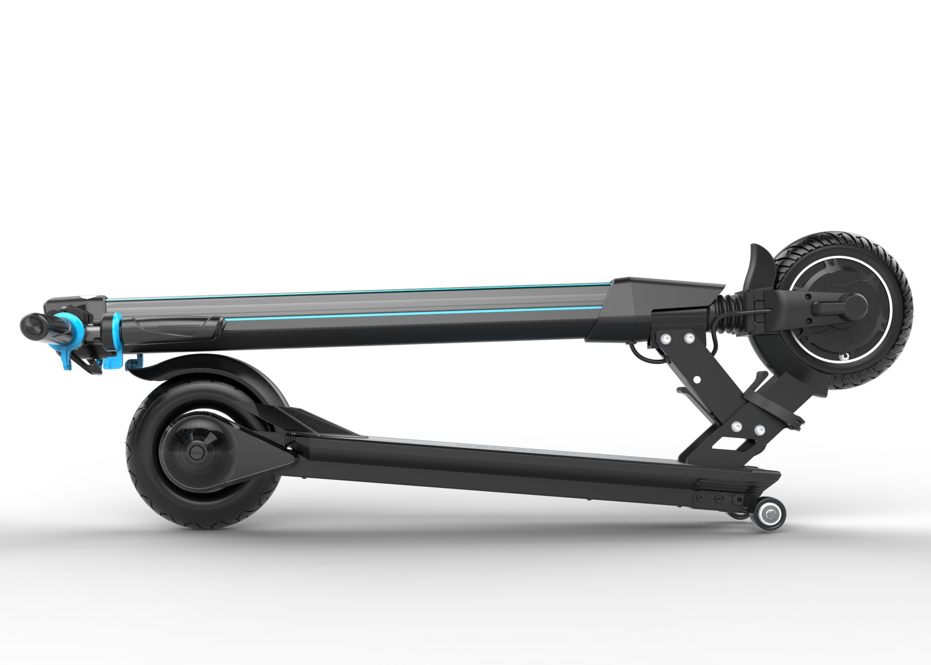 Protable Folding Electric Kick Scooter 36V 250W With Wheel Motor
