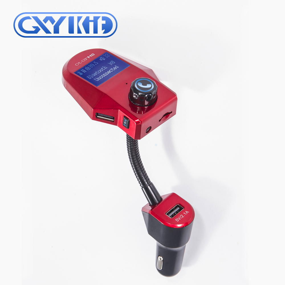 GXYKIT Car Audio T10 bluetooth MP3 Player Wireless FM Transmitter M8 Bluetooth Charger