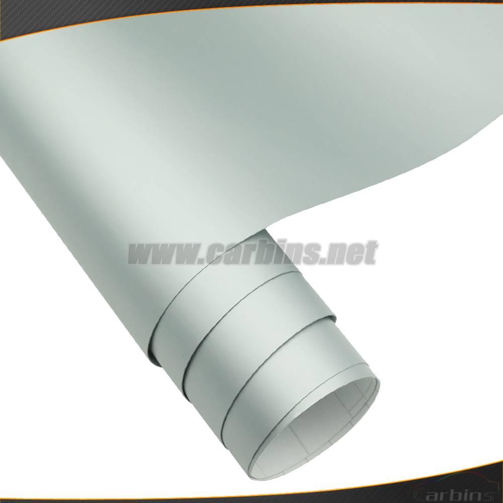1.52*30m Matt Silver Color Changing PVC Vinyl Sticker Adhesive Cars