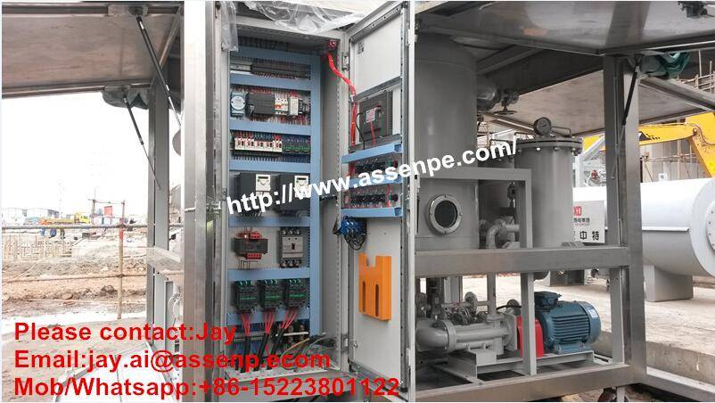 ultra high voltage transformer oil filtration plant,oil purifier machine