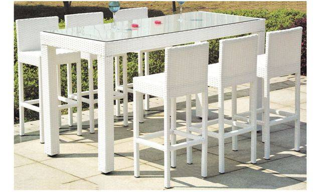 Bar furniture rattan/wicker bar table chair ( B426 & B526 )