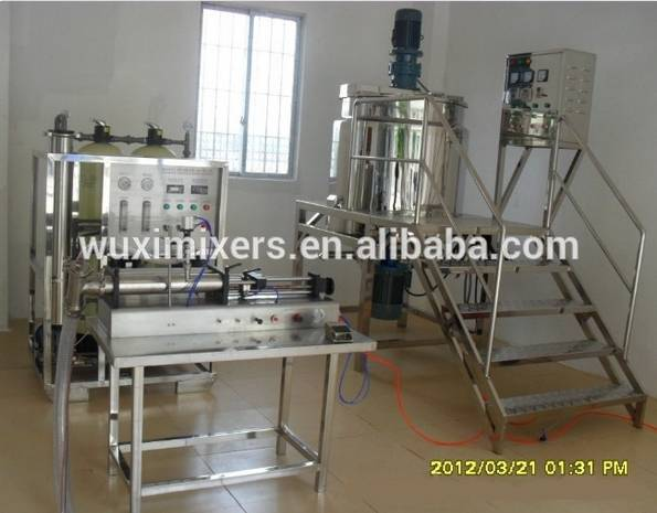 MT Industrial Chemical Mixer Agitator Detergent Production Equipment Industrial Cosmetic Powder Liqu