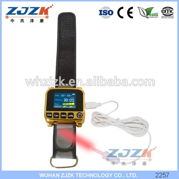 Waterproof blood clean Watch Laser Therapy to Treat Hypertension