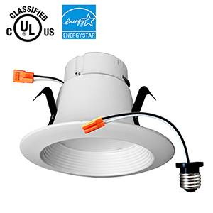 OKT Lighting 4inch 9W Eco LED Retrofit Downlight