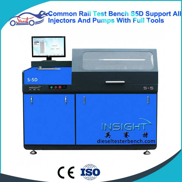 Automatic Common Rail Injector & Pump Test Bench S5D Testing Stand