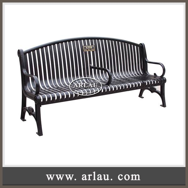 Arlau Park furniture supplier, cast iron park benches, outdoor benches