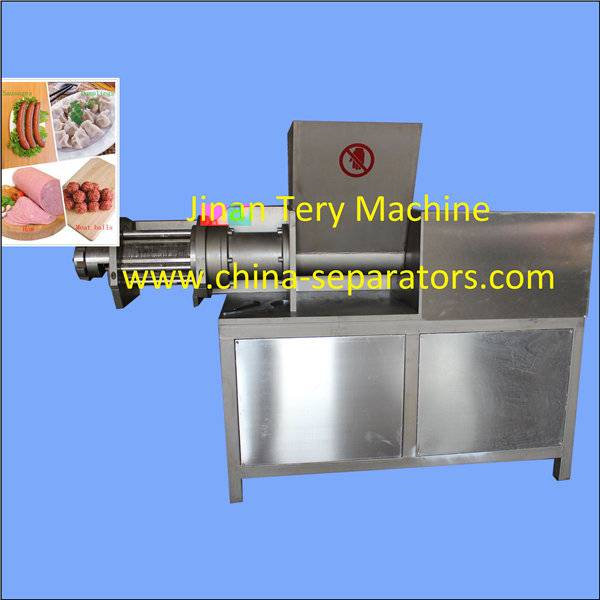 China automatic stainless steel meat bone separator