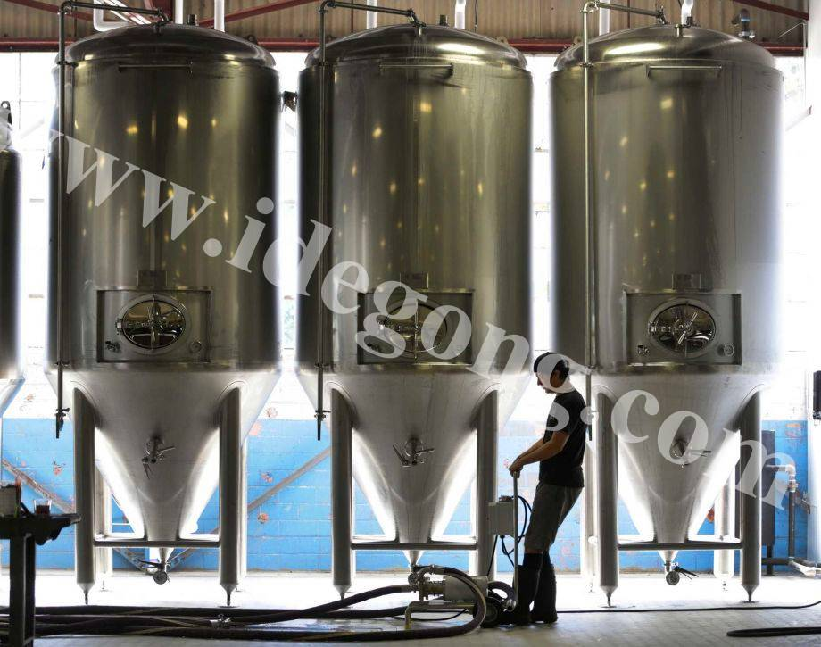 Brewhouse equipment