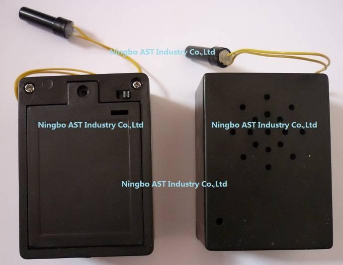 Motion sensor voice recorder
