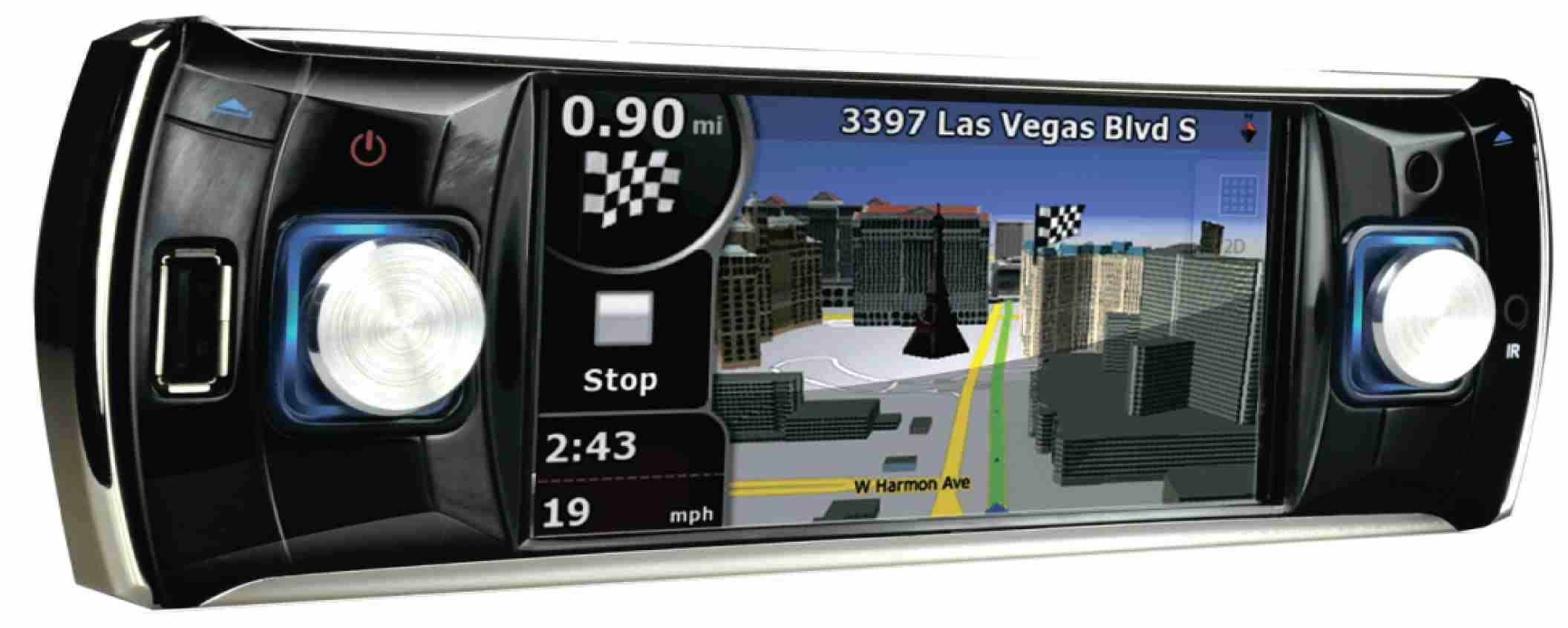 "1-DIN 4.2"" Touchscreen(TFT)"