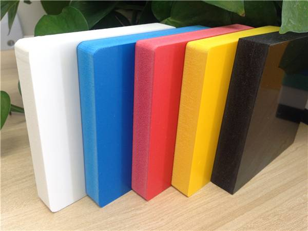 China colored high density pvc sheet