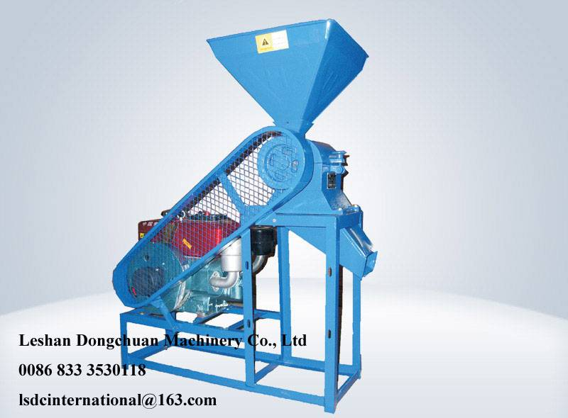 Engine driving paddy sheller, rice mill machine, paddy husker N6.0