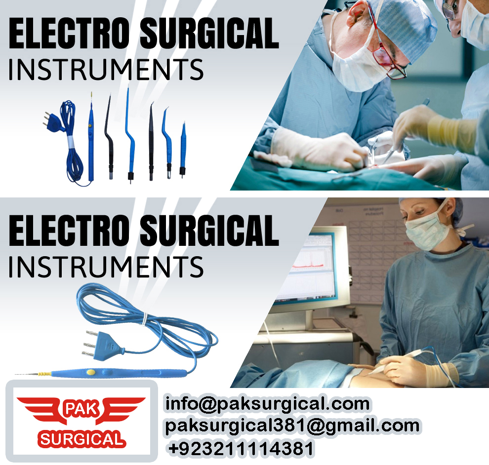 Electro Surgical Medical instruments Pak surgical
