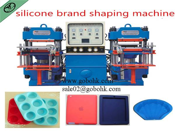 Hot selling Silicone  brand forming machine