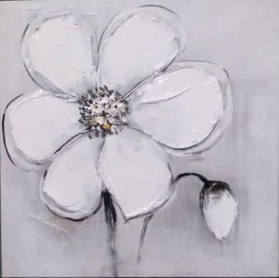 100% Handmade Oil painting Flower C style
