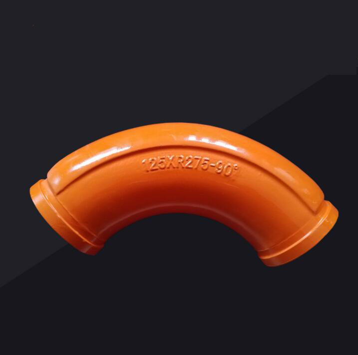 DN125-R275-90Degree End Elbow for Zoomlion/ Concrete Pump Twin Wall Elbow