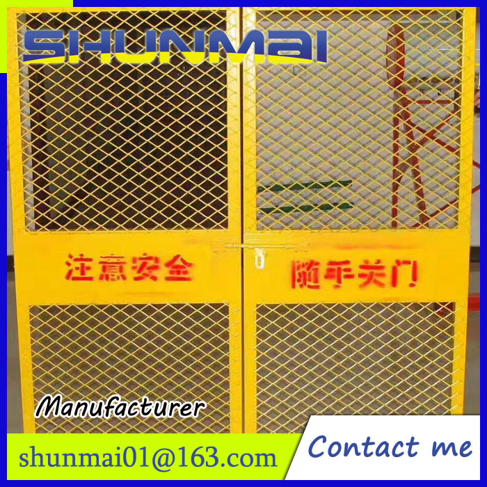 foundation pit mesh fence spraying coating wire mesh fence panel fence