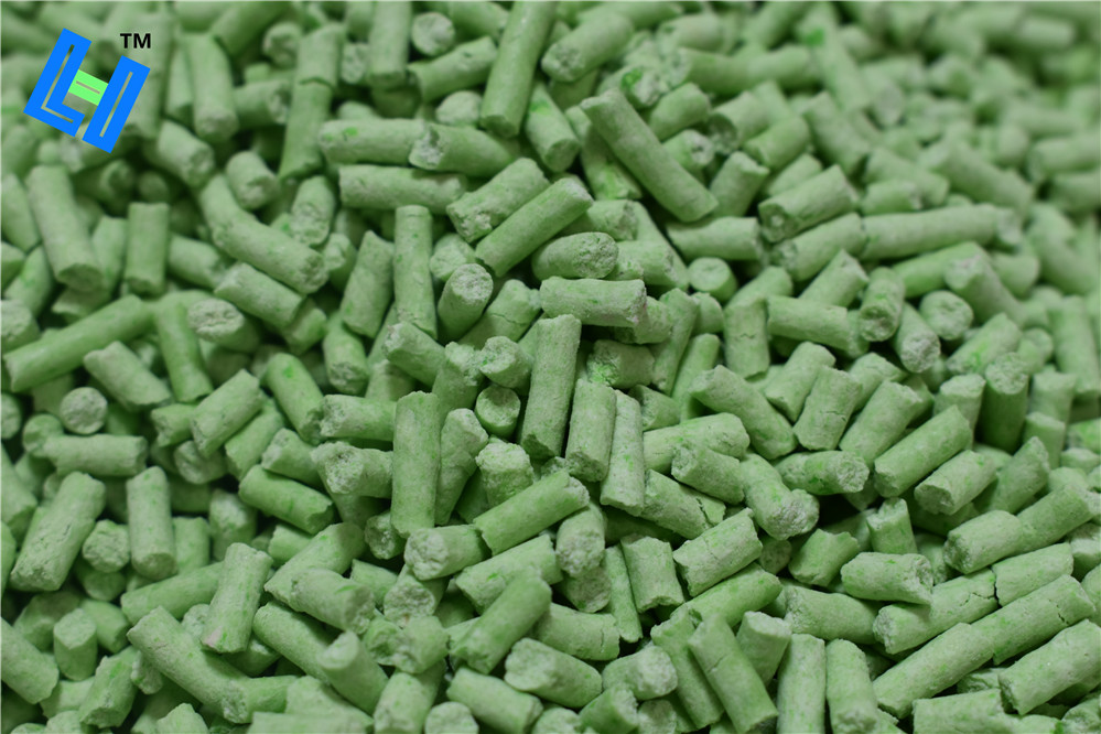 green tea scent tofu cat litter