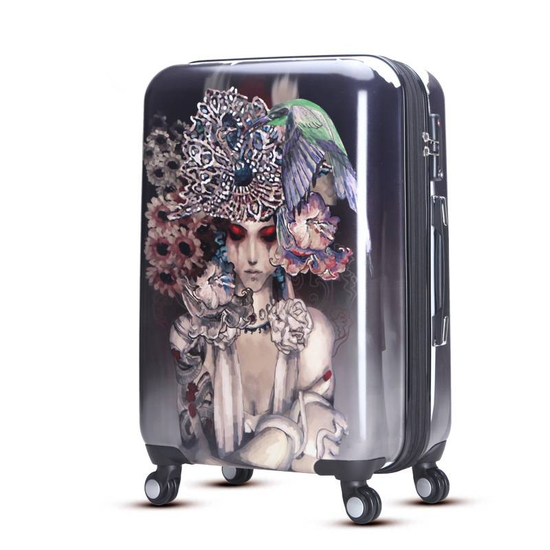 Traditional chinese style travel luggage case