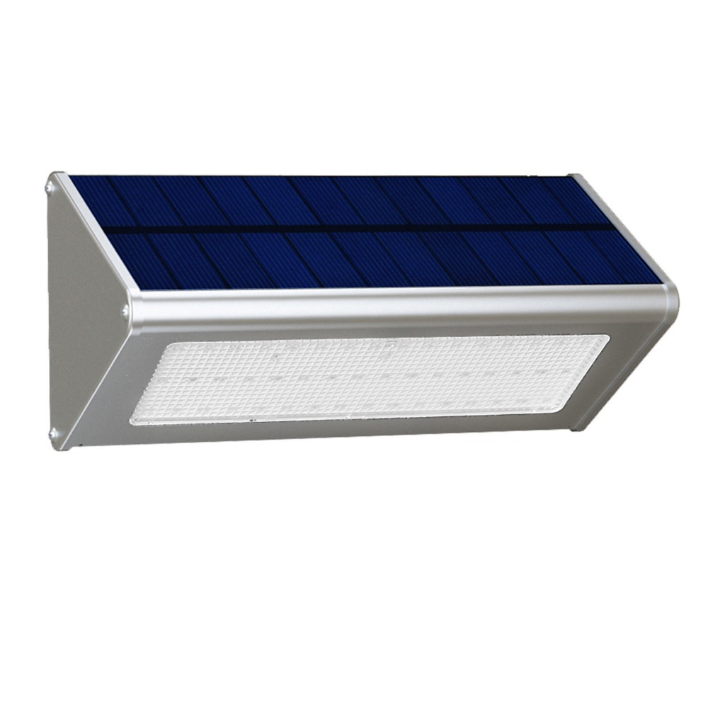 6W solar LED wall light garden light Aluminium alloy