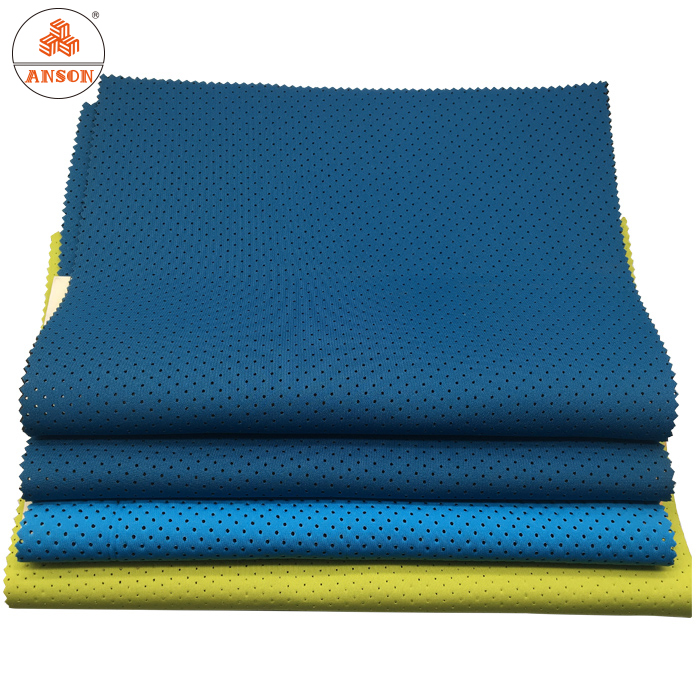 Free catalog provided 2mm thin neoprene nylon fabric sheets soft breathable for wellness accessories