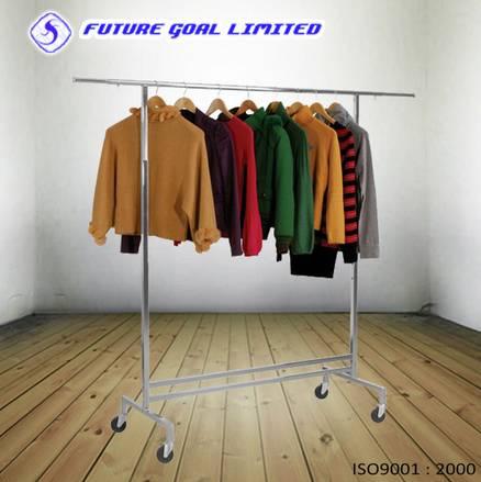 Adjustable Garment Rack / Metal Garment Display Stand