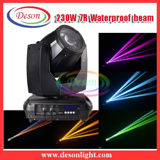 Unique waterproof 230W 7R sharpy beam light M-230B