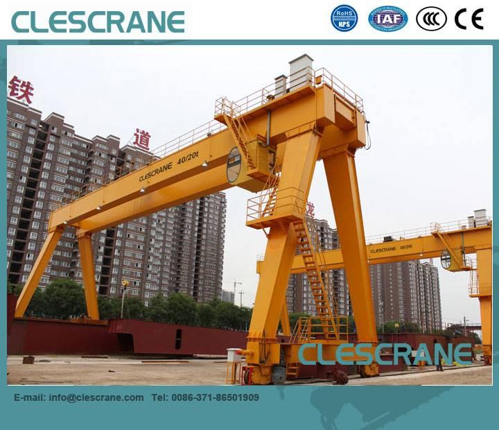CHG Series Gantry Crane With Hoist & Electric Hoist Gantry Crane 2-63t $1000-$15000