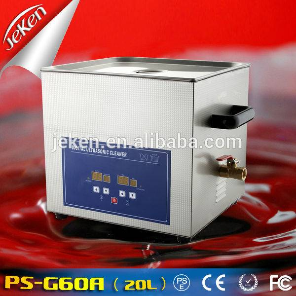 360W Best Used High Quality Portable Ultrasonic Jewelry Cleaner For Sale 20l (PS-G60A,CE,RoHS)