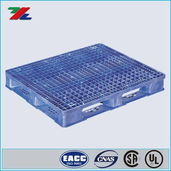 48 in. L40 in. W, Blue, Plastic Pallet