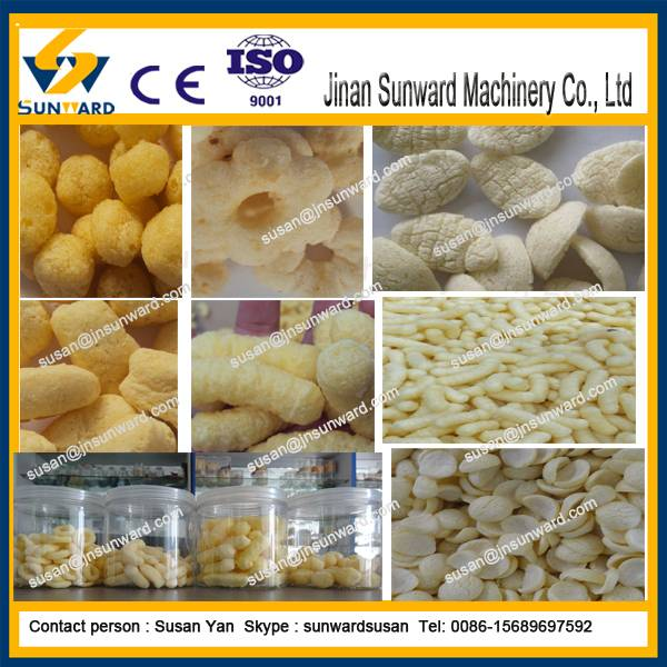 High Quality Fully Automatic Corn Snack Pellet Extruder Snack Machine