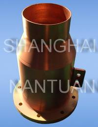 Seamless copper tail tube sheath with flange for cable end NTSCTT-TT002