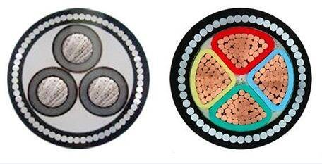 0.6/1kv, steel tape armoured power cable