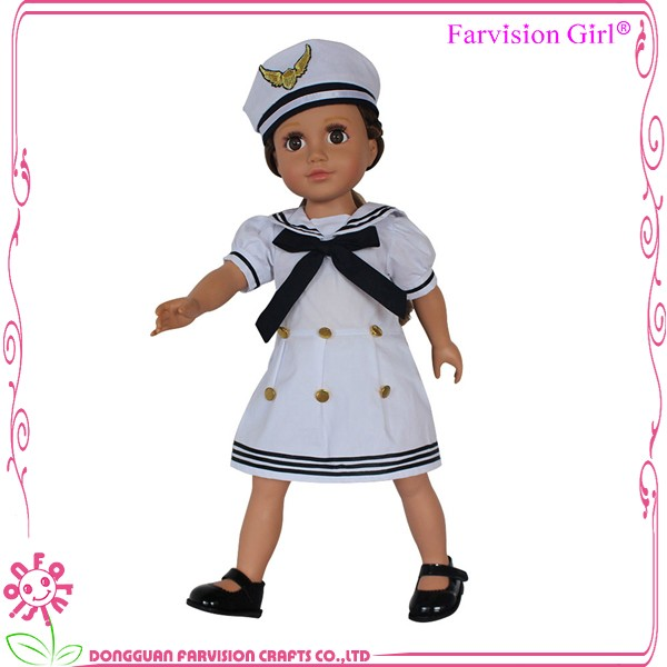 OEM manufacturer 18 inch solid body the first dress up doll