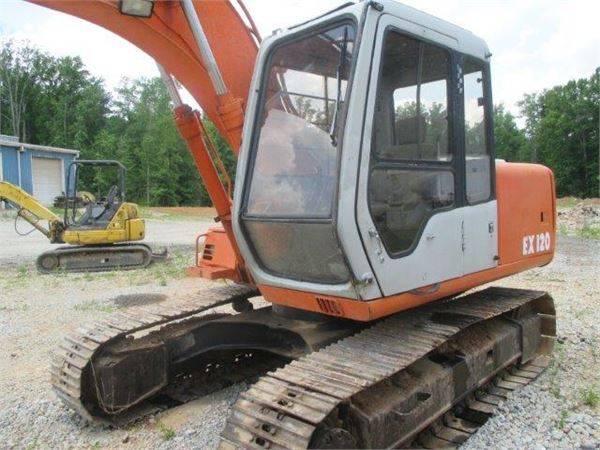 Used Hitachi EX120-2 Crawler Excavator