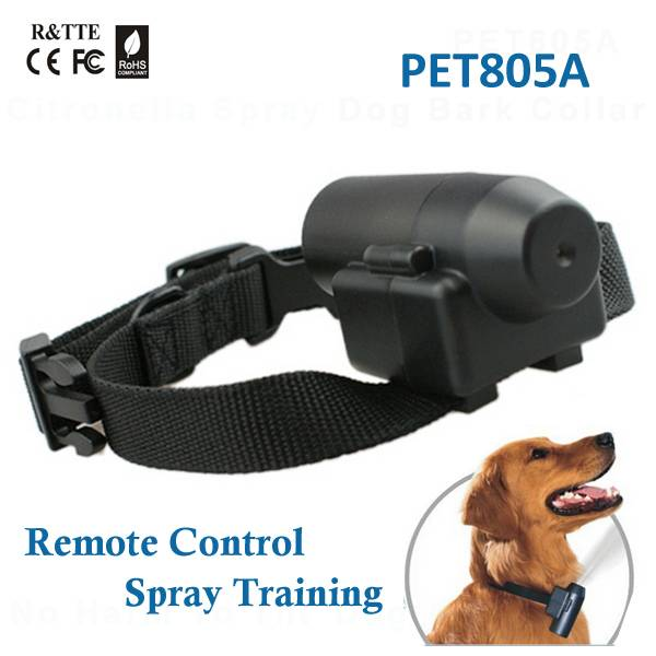 PET805A Anti bark spray collar with Rechargeable lithium battery