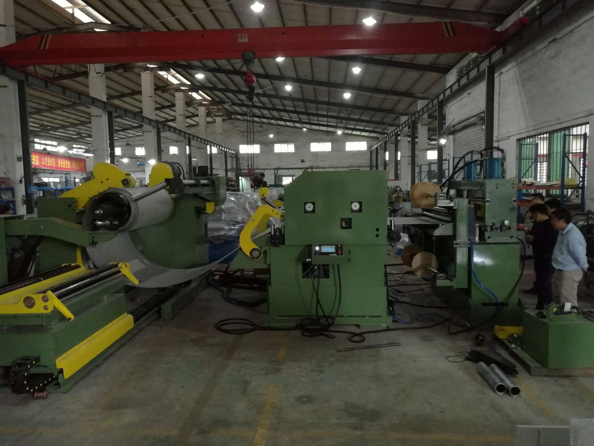 3 in 1 decoiler straightener feeder machine for press line